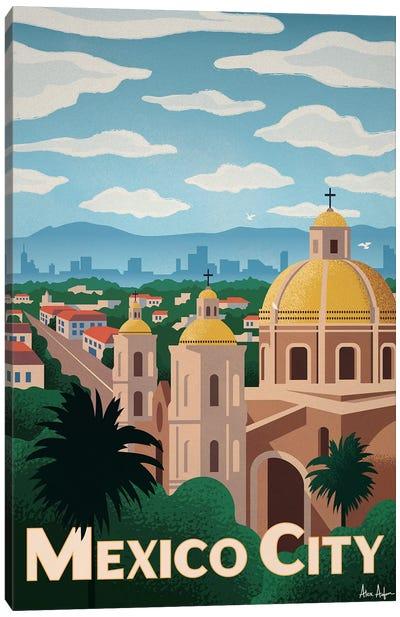 Mexico City Canvas Art Print