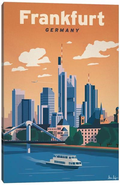 Frankfurt Canvas Art Print
