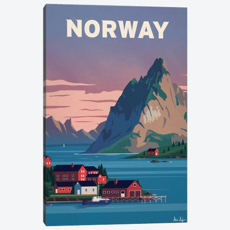 Norway Canvas Print #IDS95} by IdeaStorm Studios Canvas Art