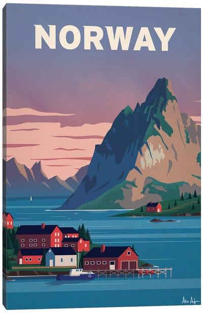 Norway Canvas Art Print