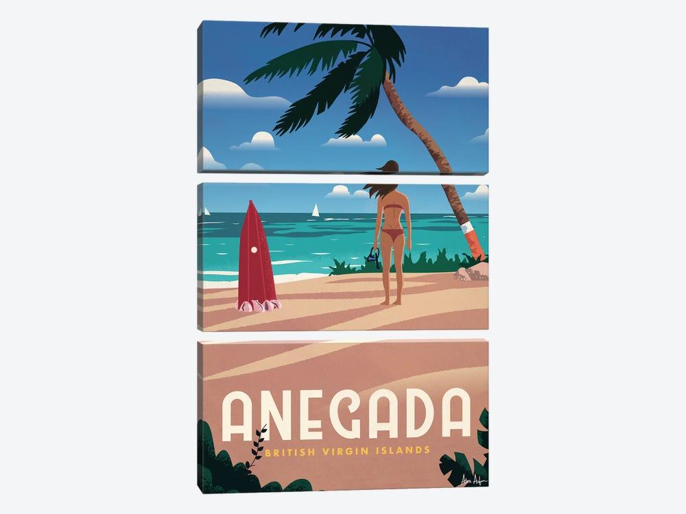 Anegada by IdeaStorm Studios 3-piece Canvas Art Print