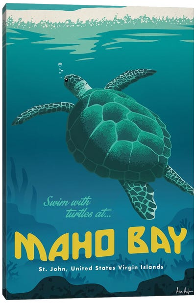 Maho Bay Canvas Art Print