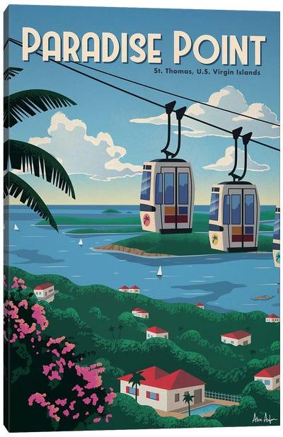 Paradise Point Canvas Art Print
