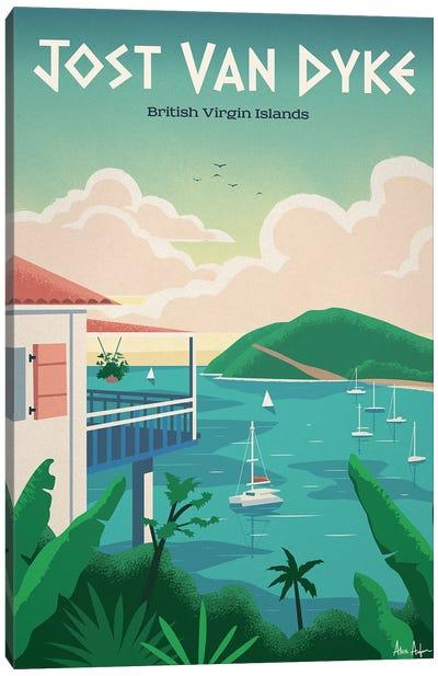Jost Van Dyke Canvas Art Print