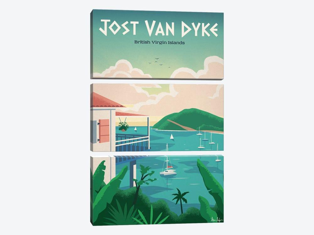 Jost Van Dyke by IdeaStorm Studios 3-piece Canvas Wall Art