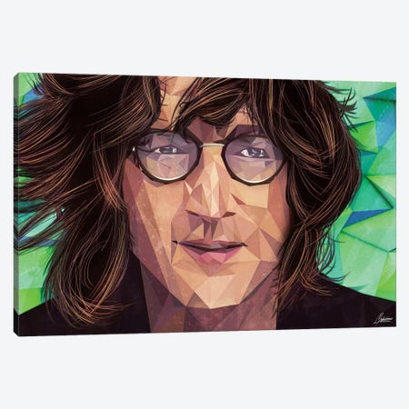 Indie Lennon Canvas Print #IEN14} by Mayka Ienova Canvas Art