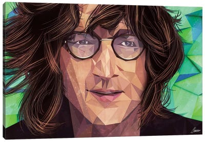Indie Lennon Canvas Art Print