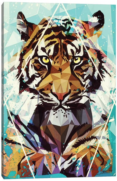 It Tiger Canvas Art Print