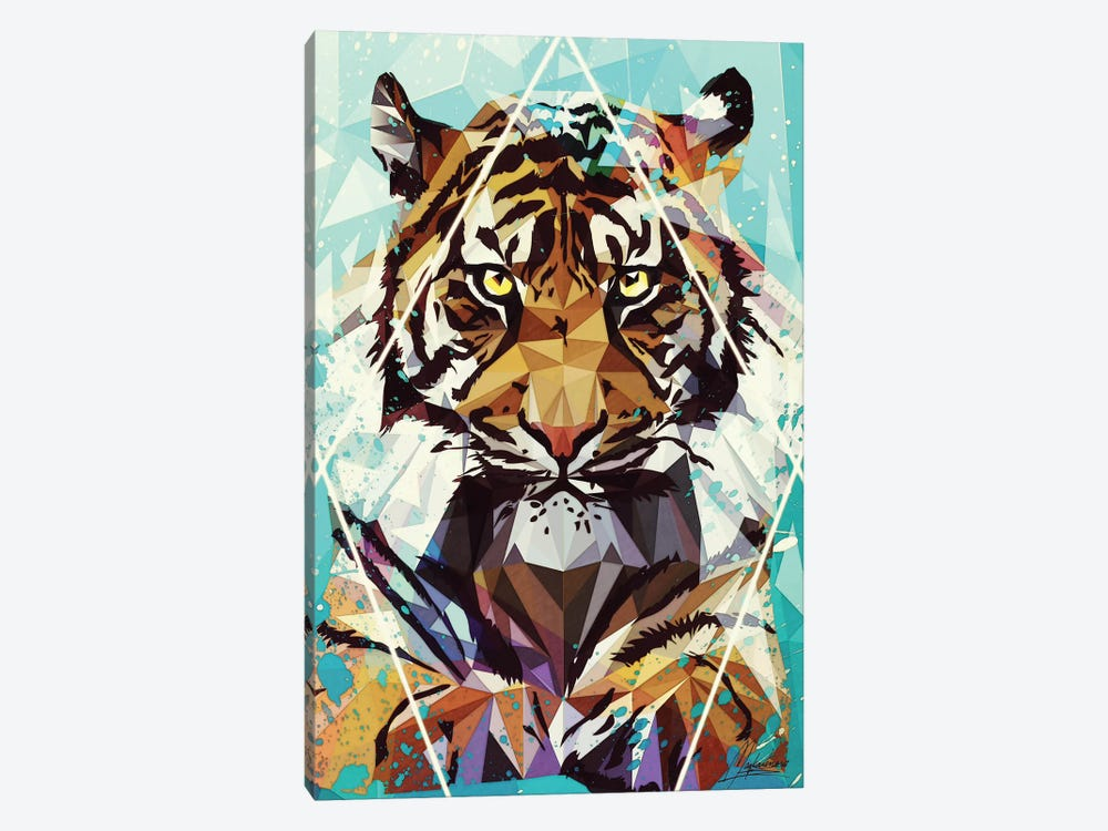 It Tiger by Mayka Ienova 1-piece Canvas Art