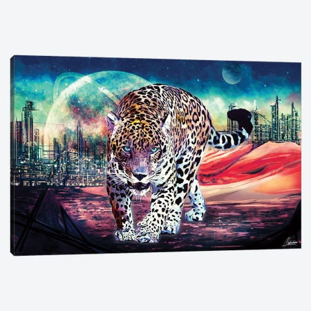 Jagwar Ex-Machina Canvas Print #IEN16} by Mayka Ienova Canvas Artwork