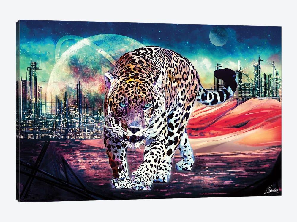 Jagwar Ex-Machina by Mayka Ienova 1-piece Canvas Art Print
