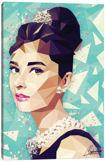 Audrey Canvas Art Print