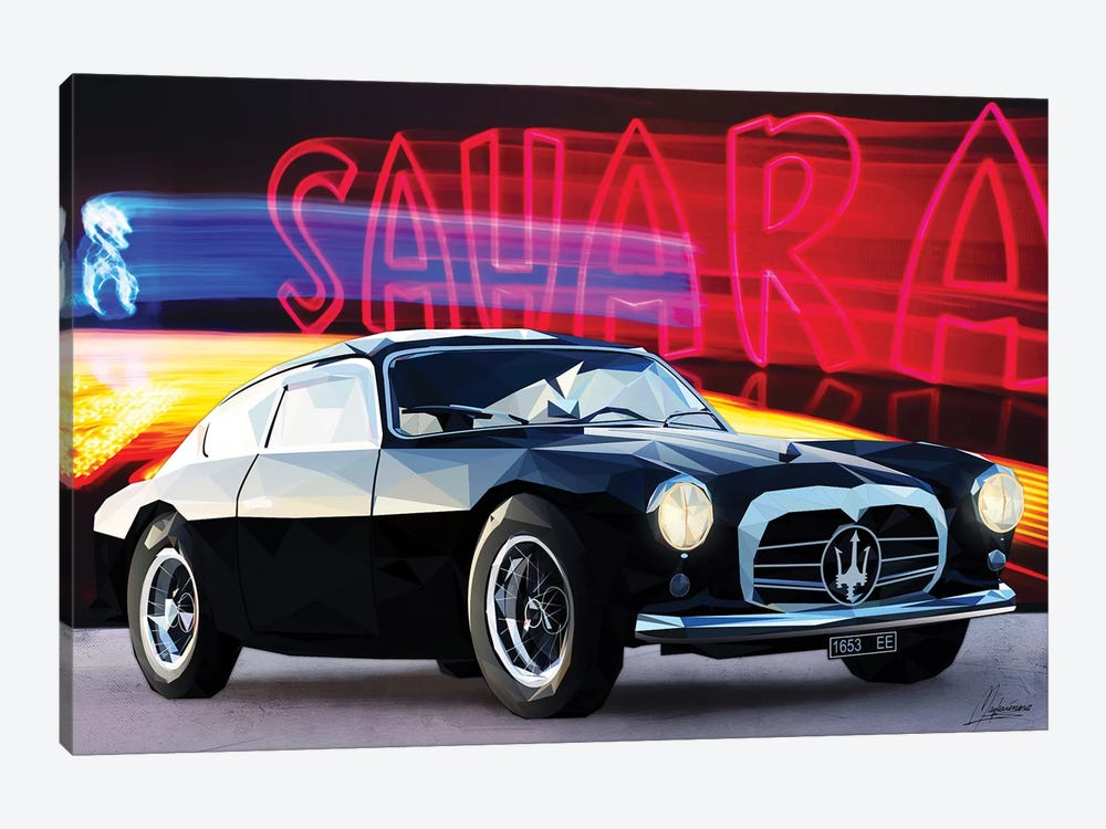 Le Noir Maserati by Mayka Ienova 1-piece Canvas Artwork