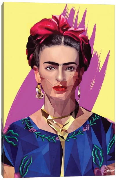 Modern Frida Canvas Art Print