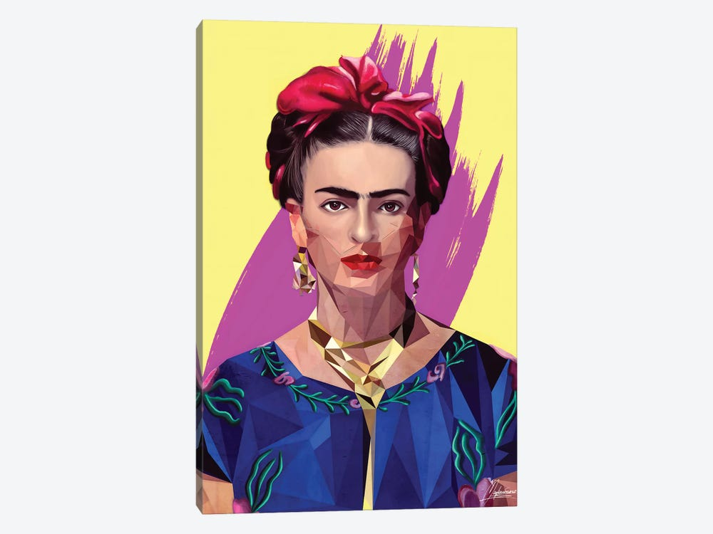 Modern Frida by Mayka Ienova 1-piece Canvas Artwork