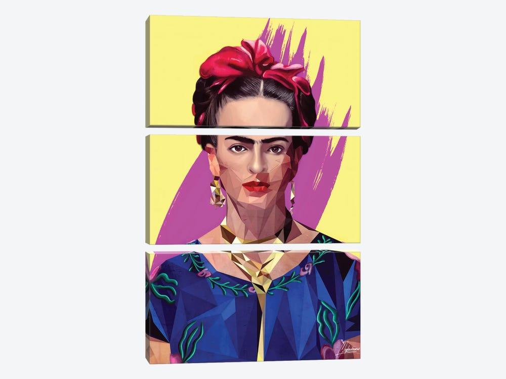 Modern Frida by Mayka Ienova 3-piece Canvas Art