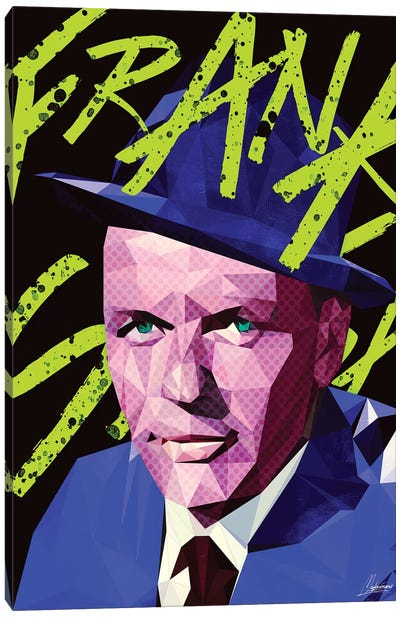 Bleu Frank Canvas Art Print
