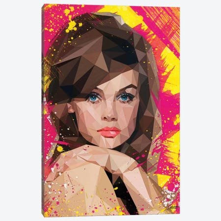 Vogue Muse Canvas Print #IEN37} by Mayka Ienova Canvas Artwork