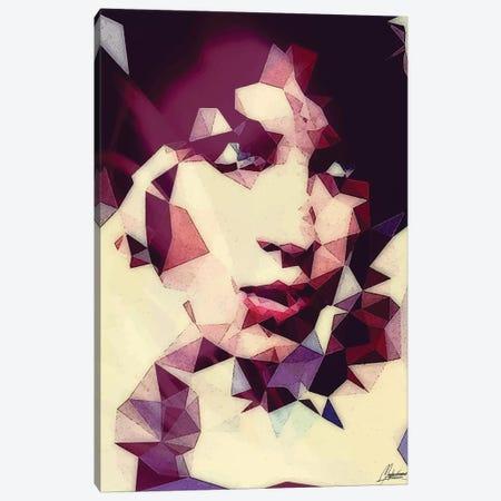 White Pattern Canvas Print #IEN38} by Mayka Ienova Canvas Print