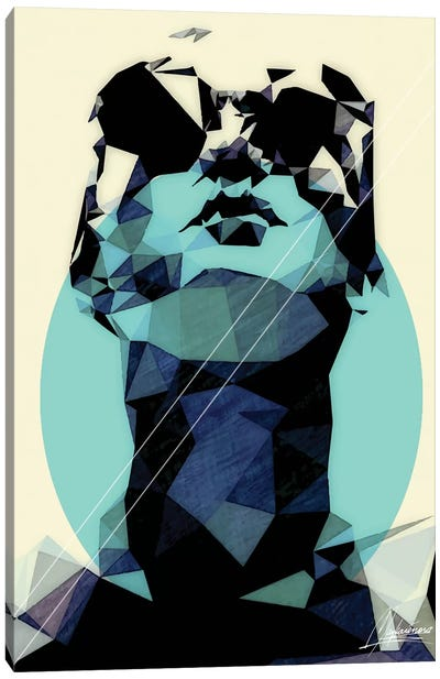 Deepmind Canvas Art Print