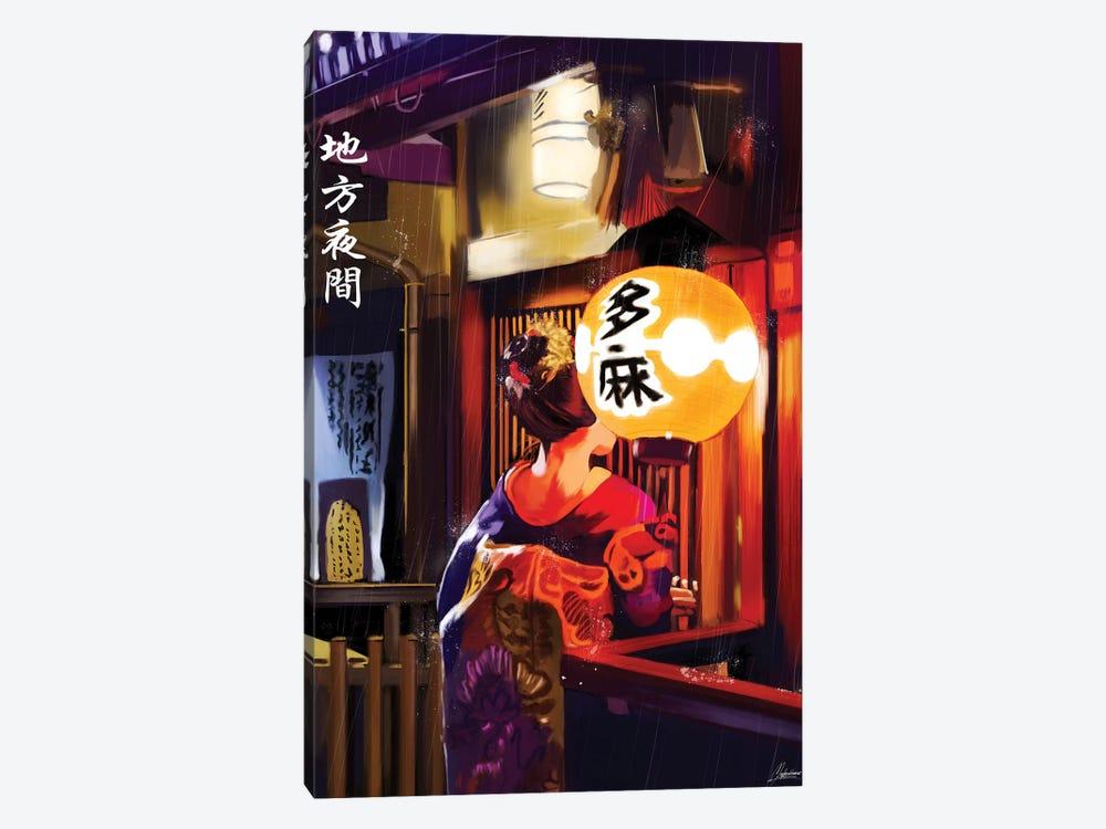 Geisha by Mayka Ienova 1-piece Canvas Art