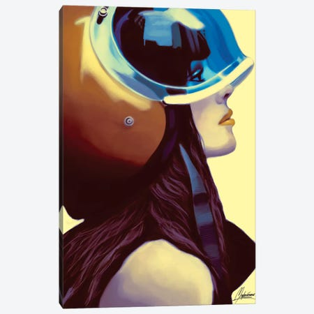 Helmetraus Hsins Canvas Print #IEN48} by Mayka Ienova Canvas Artwork
