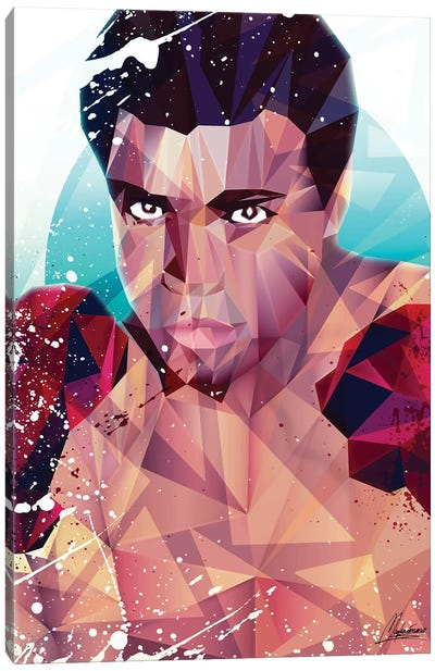 Courageous Ali Canvas Art Print