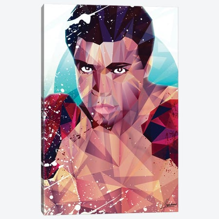 Courageous Ali 3-Piece Canvas #IEN4} by Mayka Ienova Art Print