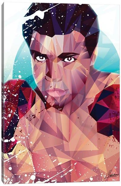 Courageous Ali Canvas Art Print
