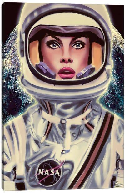 Le Cosmonaute Canvas Art Print