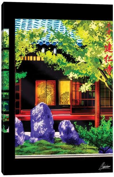 Neonzen Canvas Art Print
