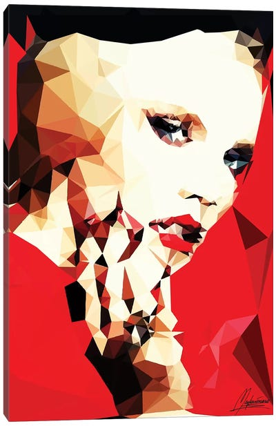 Daring Girl Canvas Art Print