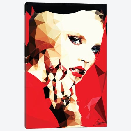 Daring Girl Canvas Print #IEN5} by Mayka Ienova Art Print
