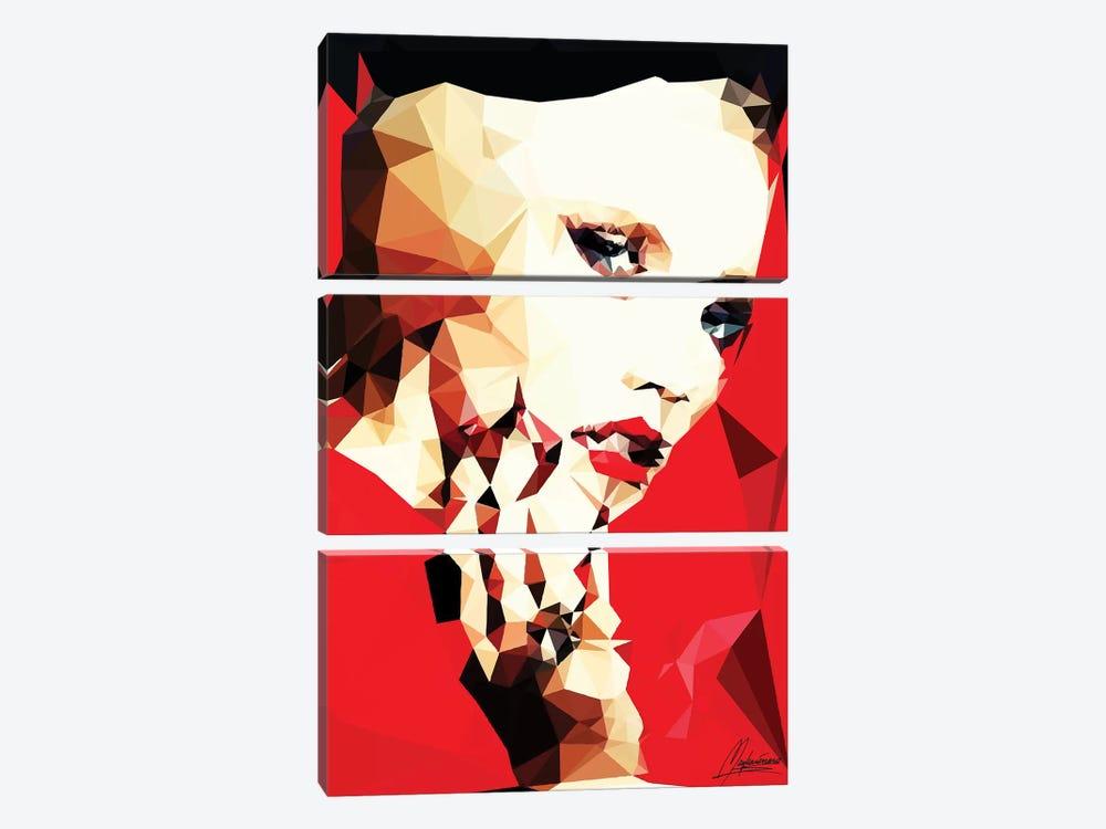 Daring Girl by Mayka Ienova 3-piece Canvas Print
