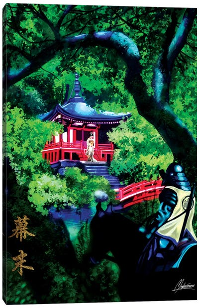 Shogun Path Canvas Art Print