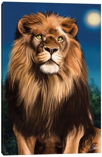 Le Roi Feline Canvas Art Print