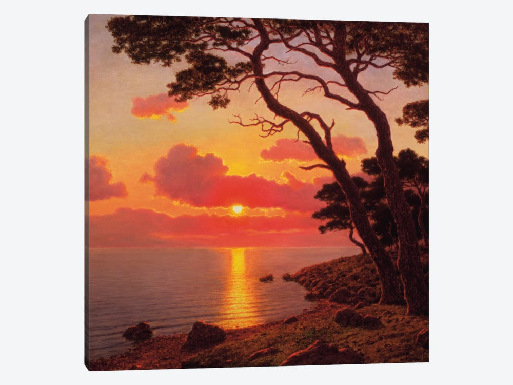 Calme de Soir, Cote d'Azur 1-piece Canvas Artwork