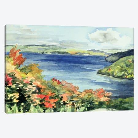 Lake Kaministikwia (No. 56), Ontario, Canada Canvas Print #IGA3} by Izabella Godlewska de Aranda Canvas Print
