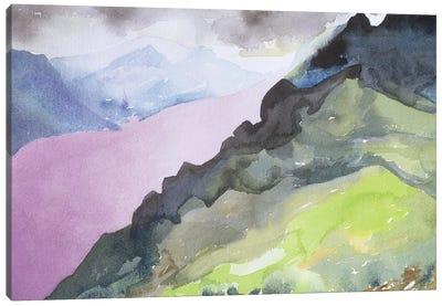 Loch Ness From Glendoe Lodge, 1995 Canvas Art Print
