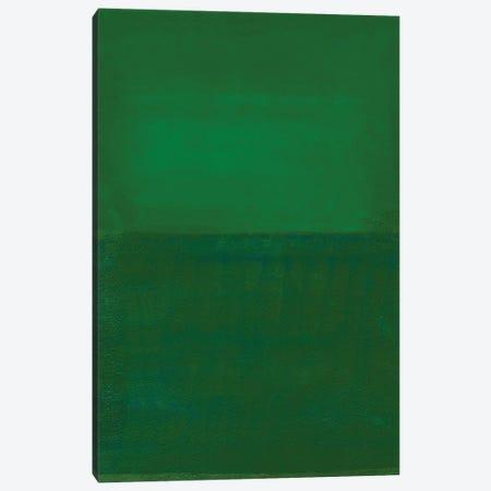 Space, Time, Motion, Green, 2010 Canvas Print #IGA6} by Izabella Godlewska de Aranda Canvas Wall Art