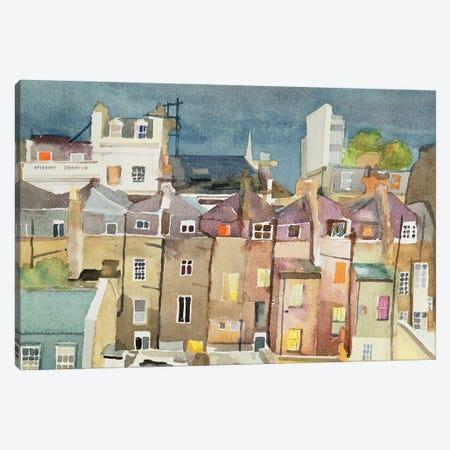View From Rear Window Of 48 Chester Square, SW1, 1982 Canvas Print #IGA7} by Izabella Godlewska de Aranda Canvas Artwork