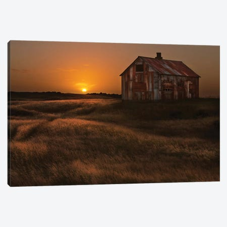 September Sun Canvas Print #IGB2} by Bragi Ingibergsson Canvas Art
