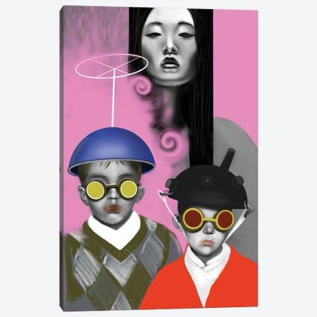 Hide And Seek Canvas Print #IGC14} by Irina Greciuhina Canvas Art