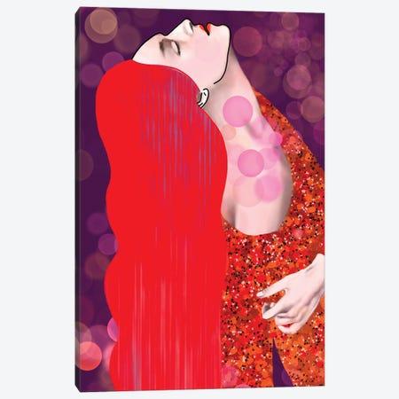 Alya Klimt Canvas Print #IGC1} by Irina Greciuhina Art Print