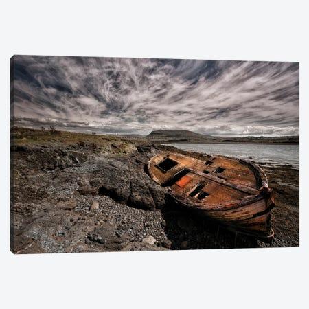 Deck Of Wreck Canvas Print #IGI7} by Torsteinn H. Ingibergsson Canvas Wall Art