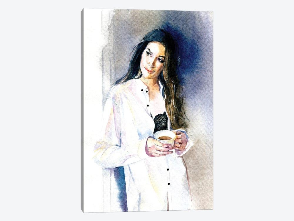 Morning Coffee by Marina Ignatova 1-piece Canvas Wall Art