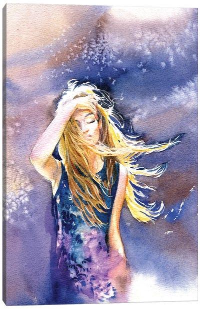 Solar Wind Canvas Art Print