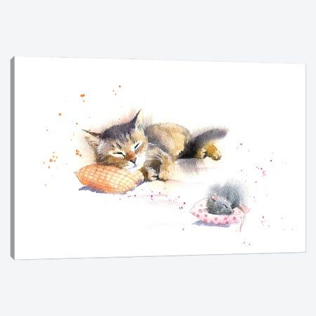 Sweet Dreams Canvas Print #IGN106} by Marina Ignatova Canvas Artwork