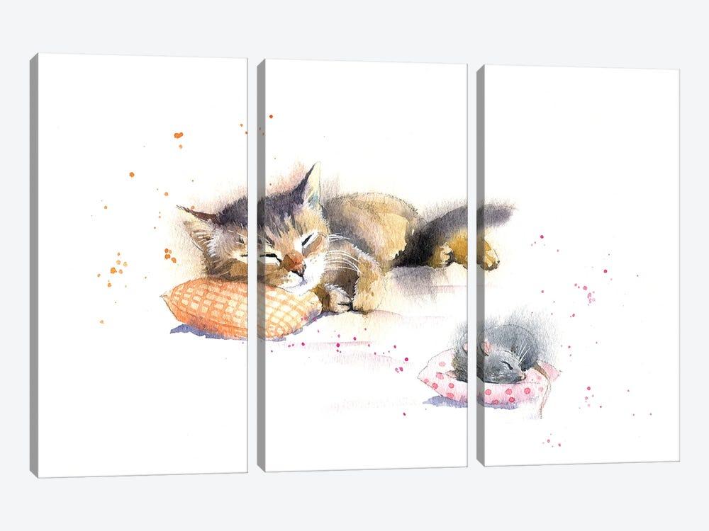 Sweet Dreams by Marina Ignatova 3-piece Canvas Art