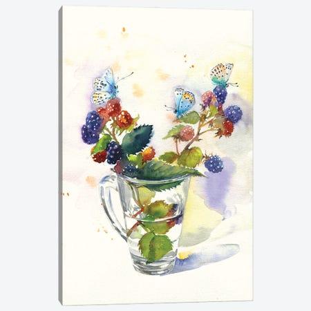 Blackberry Canvas Print #IGN108} by Marina Ignatova Canvas Art Print